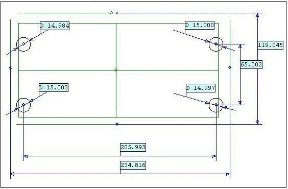Измерение и контроль деталей на КИМ